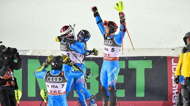 Un bronzo che sa di futuro: Vinatzer, Della Mea e Maurberger, il nuovo che avanza dello sci azzurro