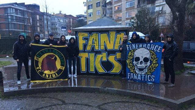 Фанаты «Анжи» приехали поддержать «Фенербахче» и помогли туркам напасть на болельщиков «Зенита»