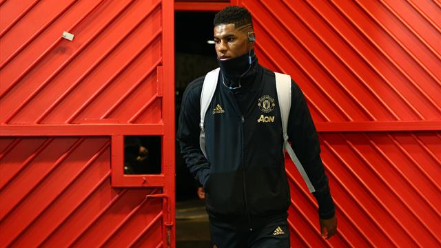 Rashford leads United attack as Bailly starts against injury-hit PSG
