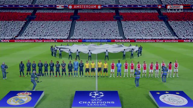 Champions Virtual: Así ha quedado el Ajax-Real Madrid