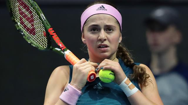 Ostapenko, Bertens survive early scares in Doha