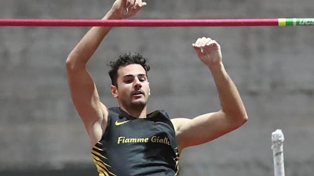 Pazzesco Claudio Stecchi: vola a 5.78, secondo italiano di sempre a -4 cm da Gibilisco
