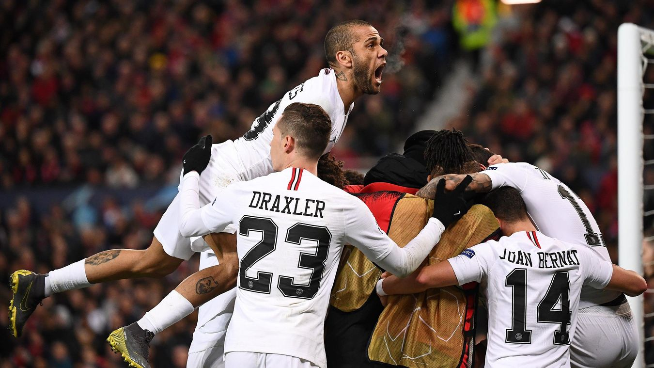 Manchester United 0-2 Paris Saint Germain