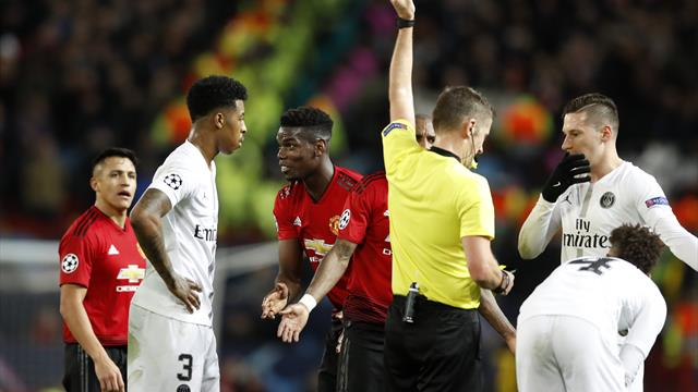 Manchester United beaten by PSG as Solskjaer tastes first defeat