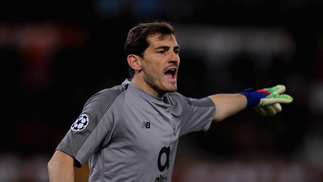 Casillas hace historia al disputar su decimonovena ronda de octavos de Champions League