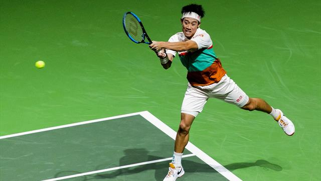 Nishikori off to winning start in Dubai as seeds continue to tumble
