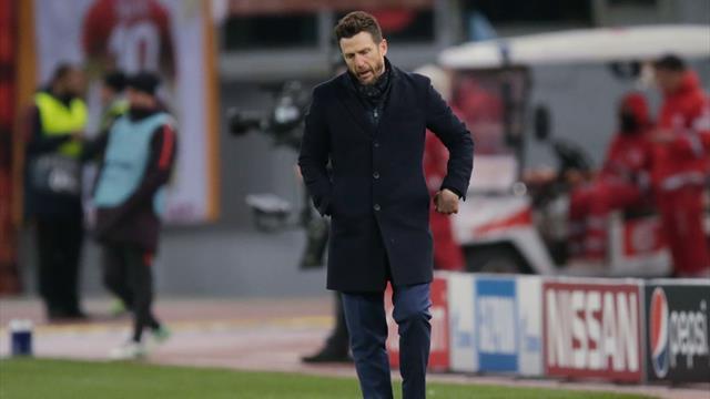 """Di Francesco: """"Gol del Porto fortunato. Zaniolo? Giusto esaltarlo, ma ci vuole equilibrio"""""""