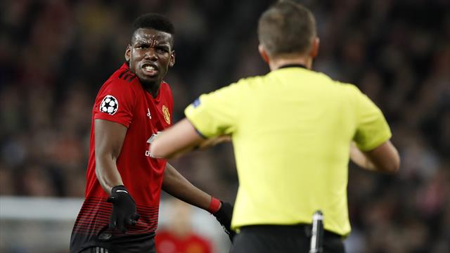 Focus on Paul Pogba as Manchester United slip up against Paris St Germain