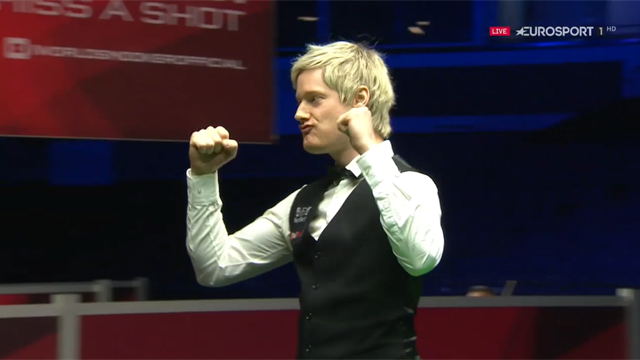 Watch Neil Robertson's brilliant 147 at the Welsh Open