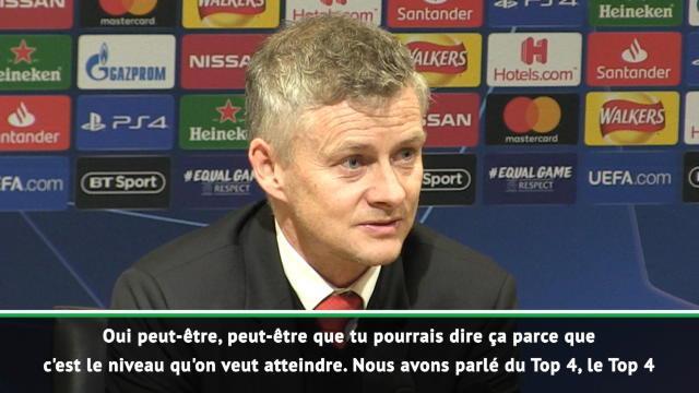 """8es - Solskjaer : """"Le PSG est une équipe de haut niveau"""""""