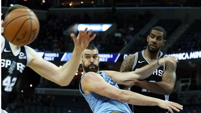 107-108. Aldridge da forma a la victoria de los Spurs