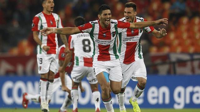 1-1 (1-4). Palestino elimina como visitante a Medellín en tanda de penaltis