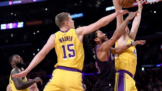 NBA: Wagner verliert mit den Lakers, Theis gewinnt mit Boston