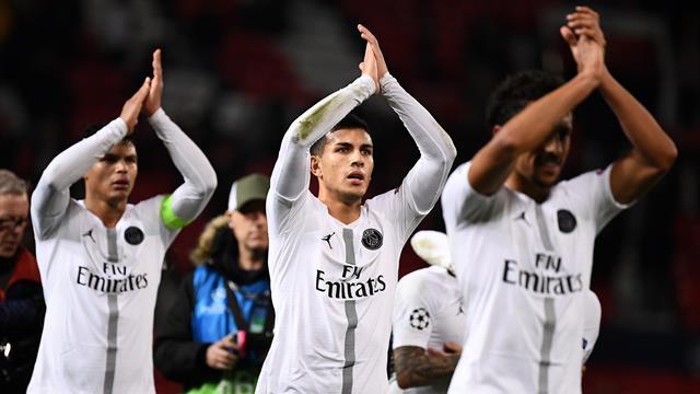 Vu et entendu à Old Trafford : pas question de s'enflammer pour Paris, il reste un match à jouer