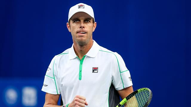 Querrey downs Harris to advance at New York Open