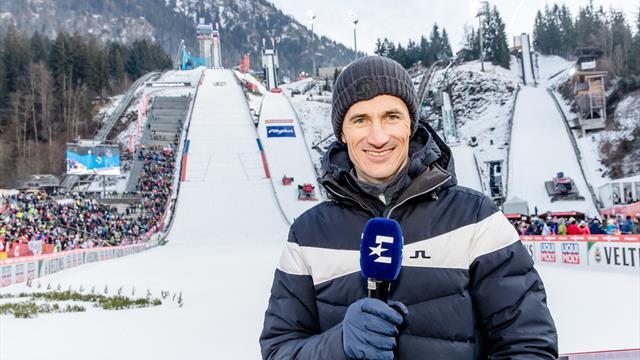 Skispringen: Schmitt bleibt bis 2022 Eurosport-Experte