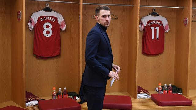 Arsenal did not play Ramsey in best position, says Juventus boss