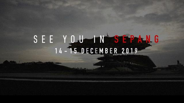 First ever FIM / FIA double-header event at Sepang on 13-15 December 2019