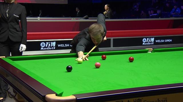 Starker Auftritt: Lisowski gelingt das zweithöchste Century des Turniers