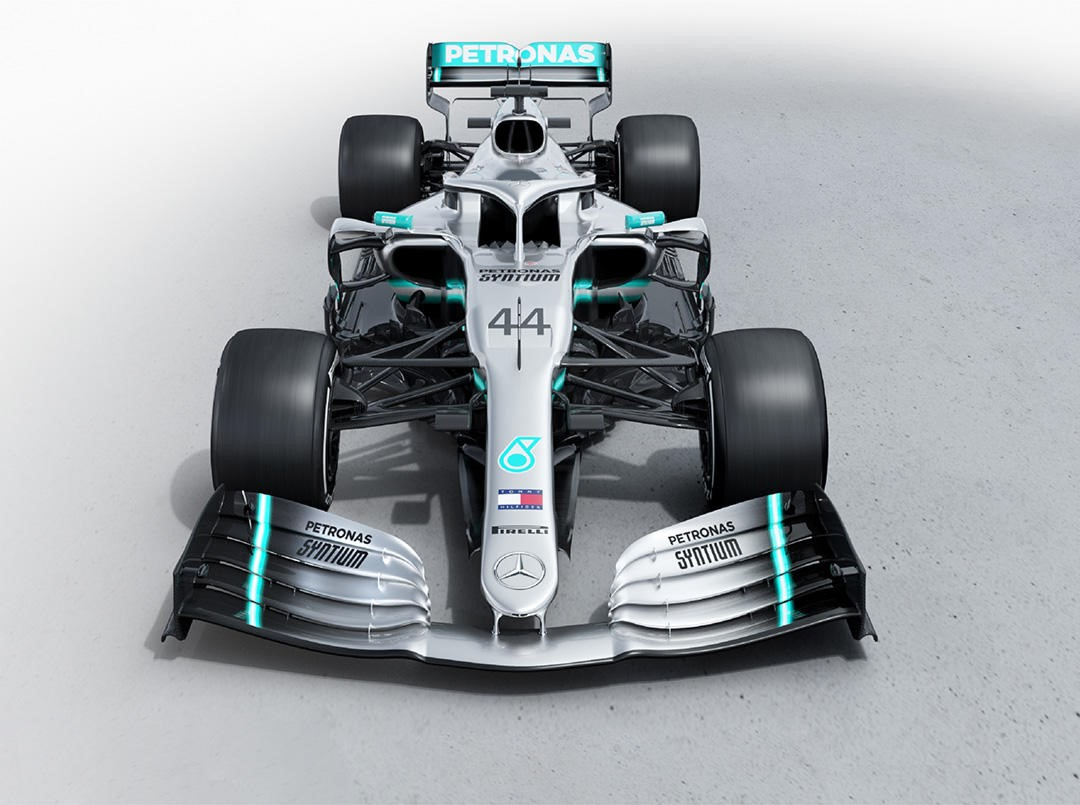 Lewis Hamilton hungry for more as new Mercedes makes track debut