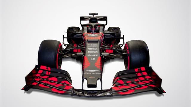 Nouveau moteur, nouvelles couleurs : voici à quoi ressemble la Red Bull 2019 (pour l'instant)
