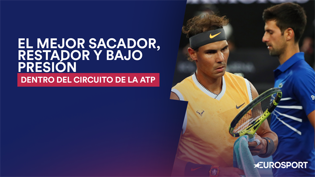 ¿Quién es el mejor sacador del circuito ATP?¿Y restador o bajo presión? Lo analizamos