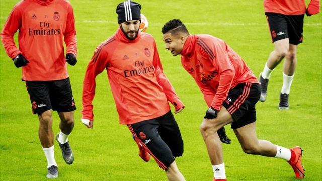 Cuatro detenidos por un ataque con fuegos artificiales al hotel del Real Madrid