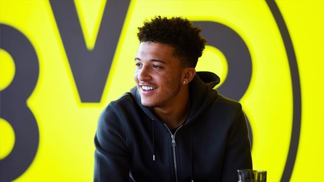 BVB-Fixpunkt Sancho: Reifeprüfung in Wembley