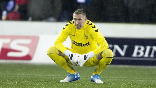 Rangers keeper McGregor to serve two-game ban after losing appeal