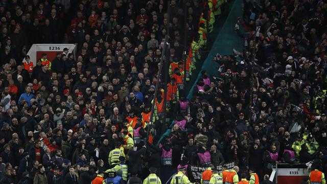 United and PSG charged by UEFA over incidents during Champions League clash