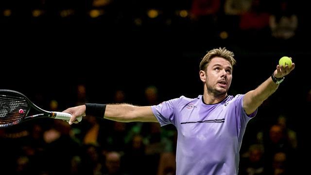 Tennis: Wawrinka passe le premier tour à Rotterdam - Sports