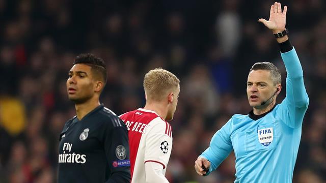 Así vienen las portadas el Ajax-Madrid y el polémico estreno del VAR en Champions League