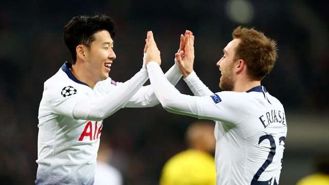 Champions League, (Octavos, ida): Tottenham-Dortmund: Al Son de Pochettino (3-0)