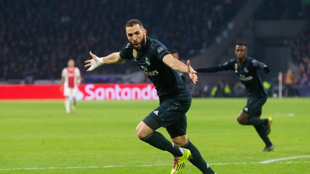 ⚽👍 El Real Madrid gana al Ajax (1-2) en otra victoria marcada por el VAR y la polémica