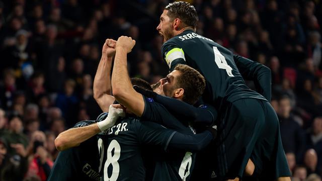L'Ajax impressiona e spreca, il Real Madrid non sbaglia mai: 1-2 ad Amsterdam