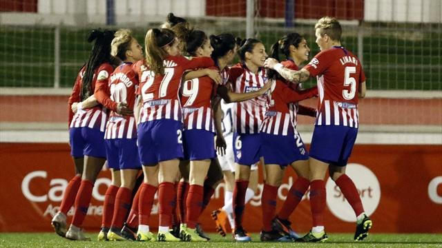 Liga Iberdrola: El Sporting Huelva sorprende al Barcelona y tiñe la Liga de rojiblanco