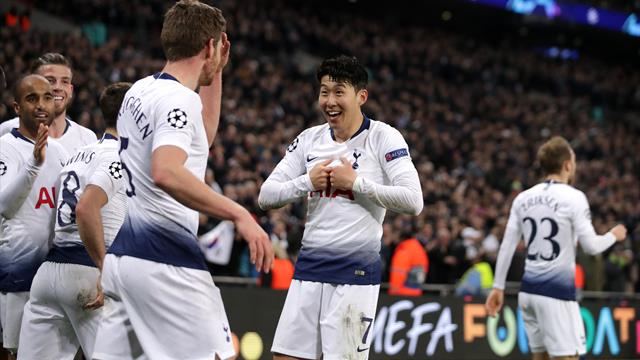 Tottenham dismantle Dortmund to gain upper hand in Champions League tie