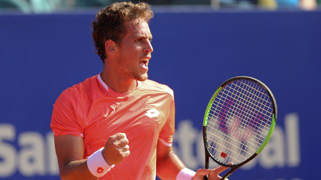 Murcia Open Challenger: Carballés vence a López-Pérez y se planta en semis (1-6, 7-6 (3) y 6-7 -2-)