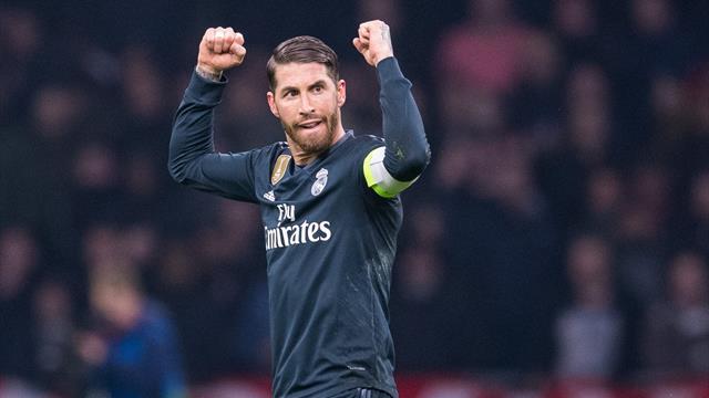 😱🎤 Ramos aclara en Twitter que no forzó la amarilla para evitar una sanción de la UEFA
