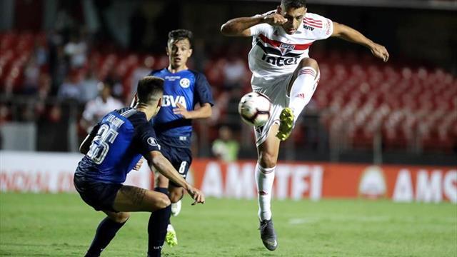 0-0. Talleres despide al Sao Paulo y se medirá a Palestino en la tercera fase
