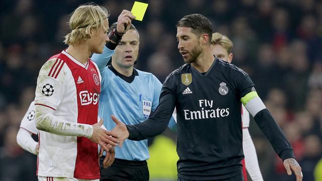 Ramos avoue avoir pris un carton volontairement.... avant de se rétracter !