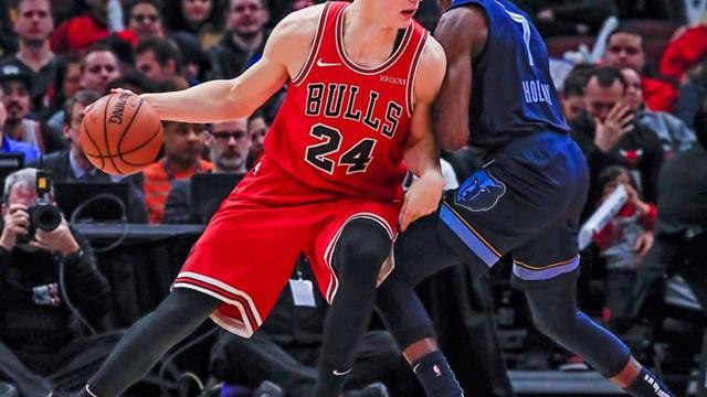 122-110. Porter y los Bulls detienen la mala racha en su campo