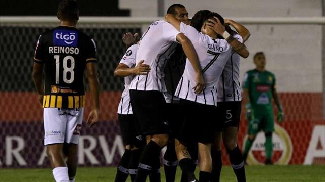 5-1. Libertad se clasifica con un arsenal de goles ante The Strongest