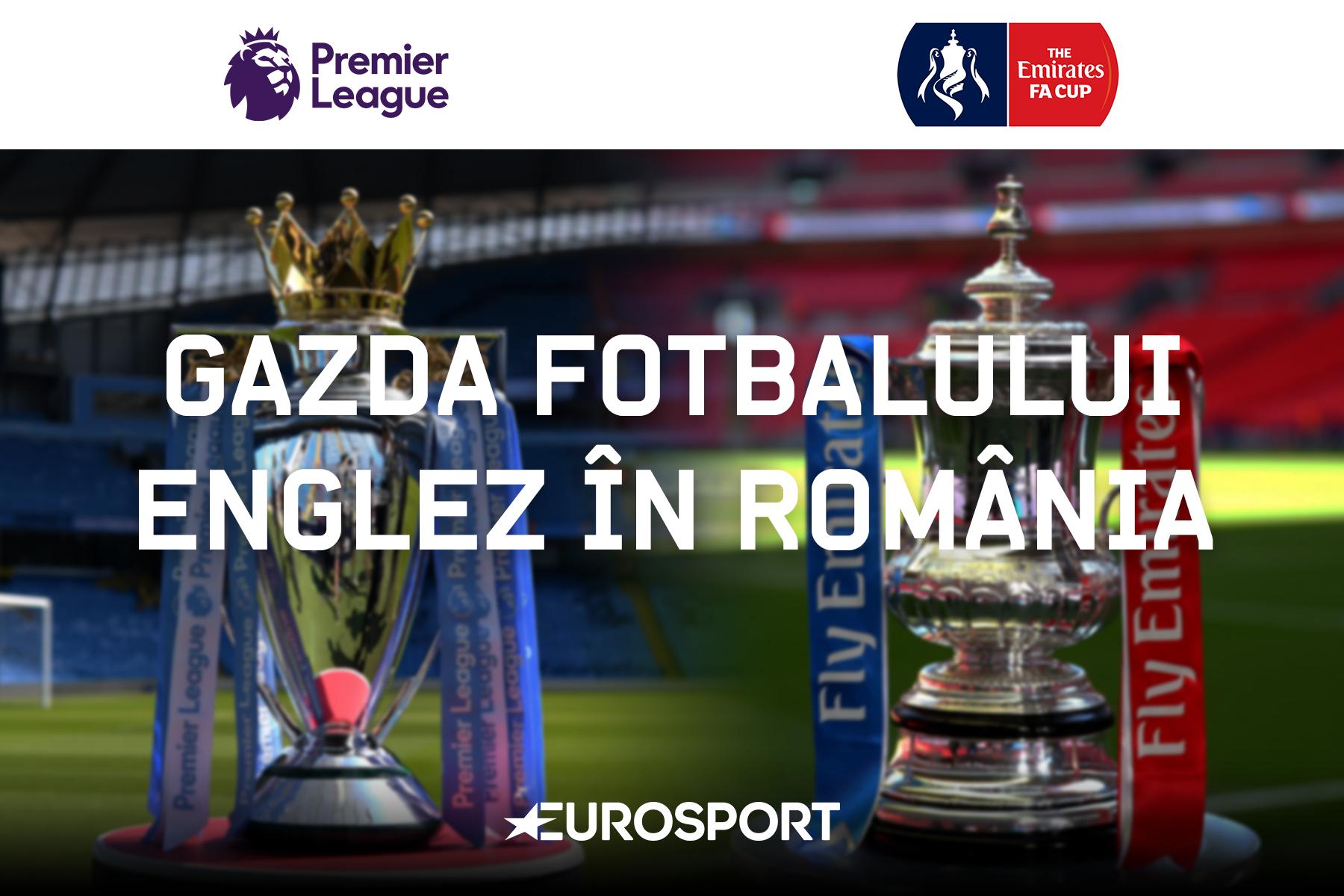 Eurosport - Gazda fotbalului englez în România