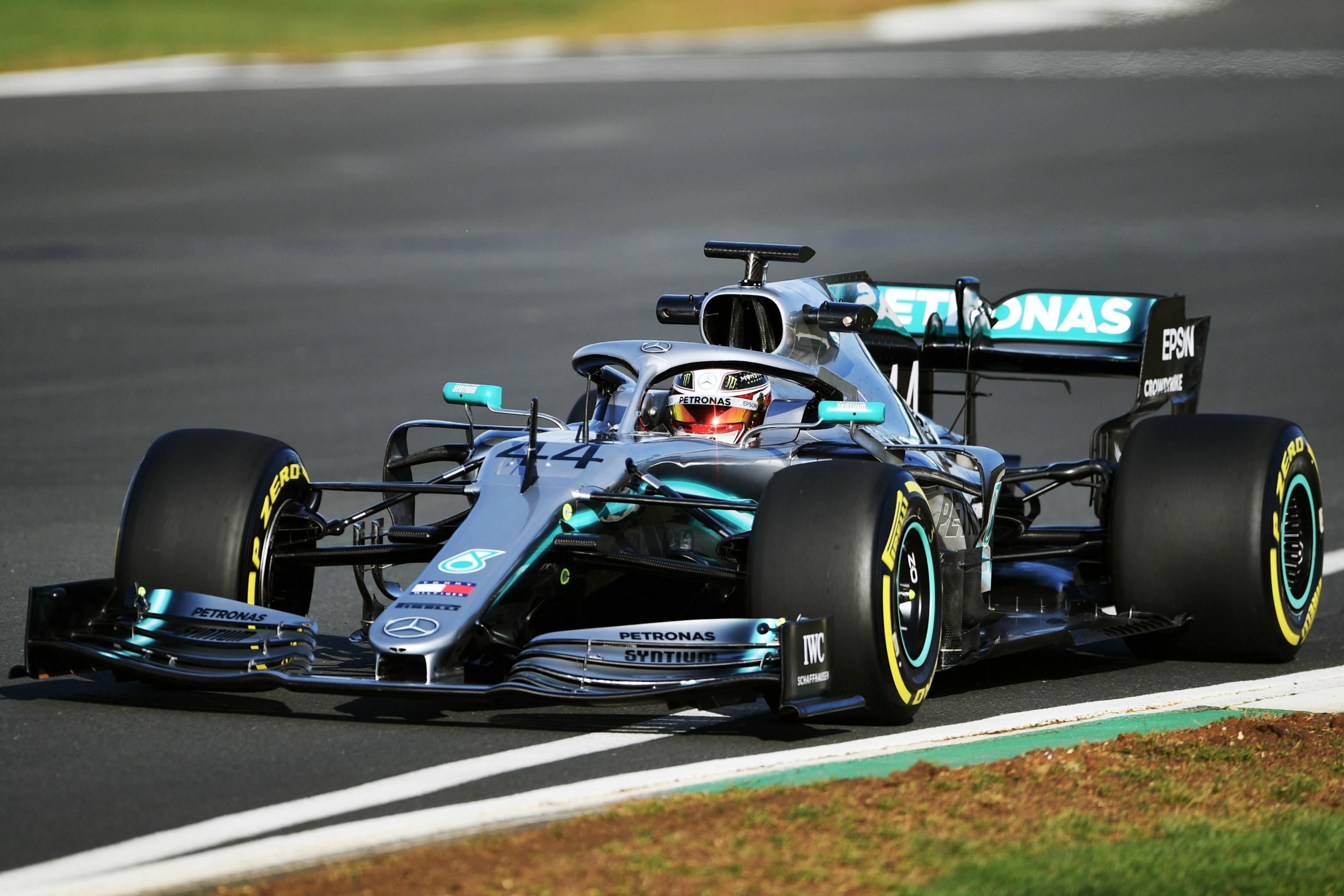 Lewis Hamilton (Mercedes) - Shakedown Silverstone 13/02/2019