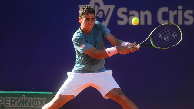 Youngster Munar ousts Italy's Fognini in Argentina