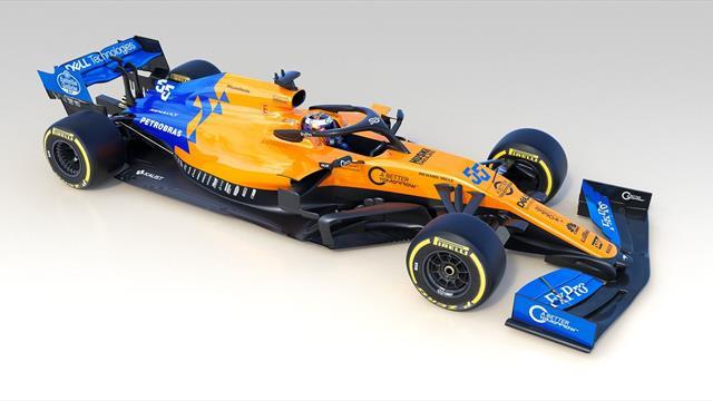 😍👌 McLaren enseña por fin el MCL34, el monoplaza de Carlos Sainz