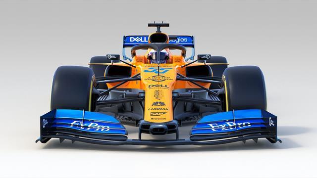 McLaren présente la MCL34