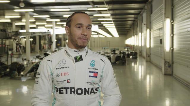 F1 - Hamilton impressionné par sa nouvelle monoplace