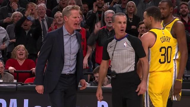 Kerr connait le prix de son coup de sang, et il est très élevé